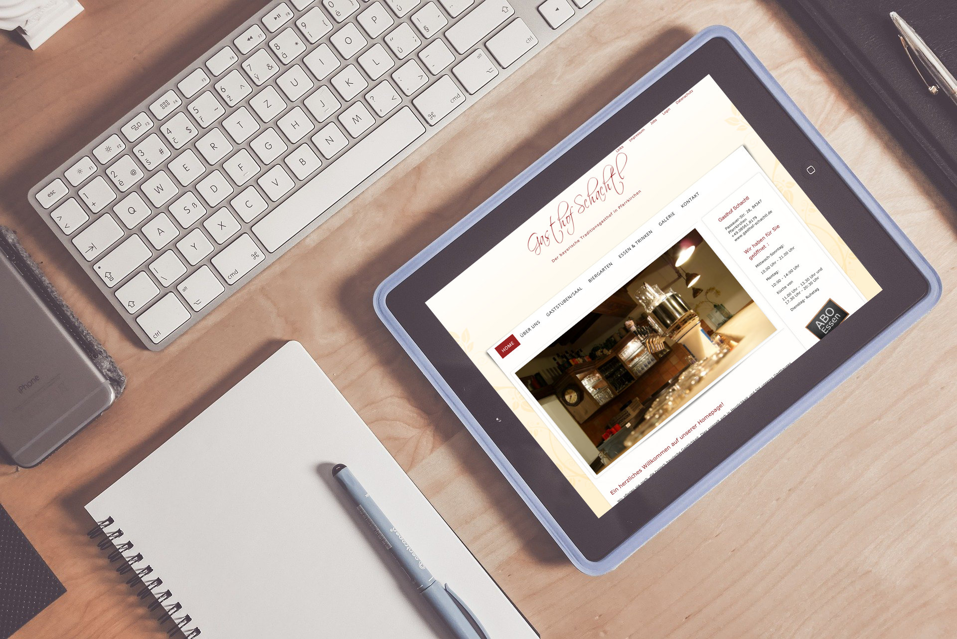 Webdesign Pfarrkirchen